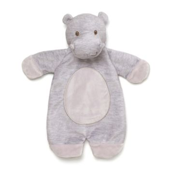 Plush Hippo Baby Blanket Puppet Playful Pals Lovey by Gund
