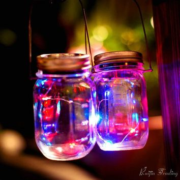 Mason Jar Insert LED Light String (Battery Operated)