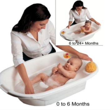 Newborn Adjustable Infant Baby Toddler Bath Tub Seat