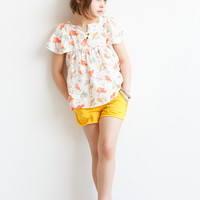 Stella McCartney Skye Girls Denim Shorts - Yellow - 332623 - only 6  - FINAL SALE