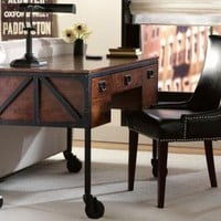 Industrial Empire Desk - Computer Desks - Home Office - Furniture | HomeDecorators.com