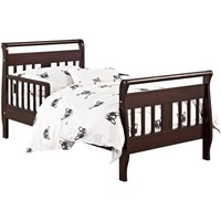 Baby Relax Sleigh Toddler Bed, Espresso - Walmart.com