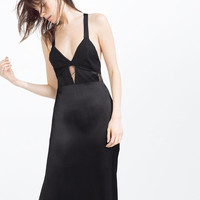 LONG CAMISOLE DRESS - View All-DRESSES-WOMAN | ZARA Ireland