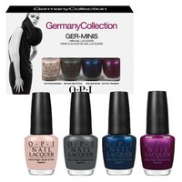 OPI 2012 Germany Collection Ger-minis Nail Lacquers 1/8th Sizes