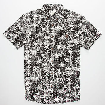 Lira Manilla Mens Shirt Black  In Sizes