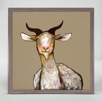 Goat ~ Giclee Canvas