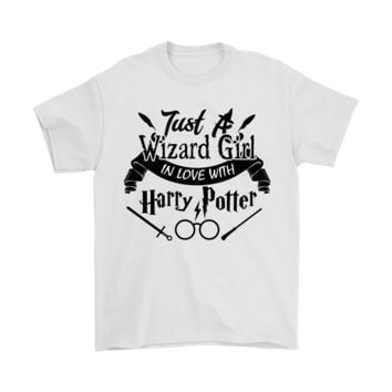 DCCKON7 Just A Wizard Girl In Love With Harry Potter Shirts