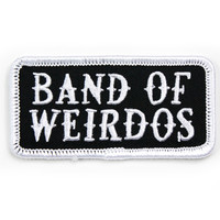 """Band of Weirdos"" Patch"