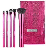 Sephora: Breast Cancer Awareness Lookin' Flawless Brush Set  : brush-sets-makeup-brushes-applicators-tools-accessories