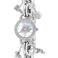 Women's Game Time Watches 'College - University of Louisville' Charm Bracelet Watch, 23mm