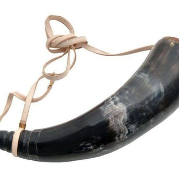 14in Powder Horn Real Horn