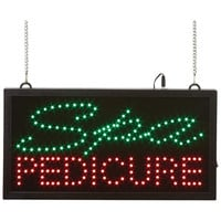 SPA PEDICURE Programmed LED Sign