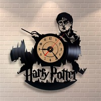 Harry Potter Vinyl Clock