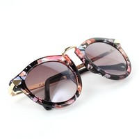 Sunglasses with Metal Detail