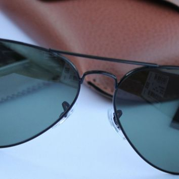 963331e668 Cheap NEW AUTHENTIC RAY BAN AVIATOR RB3025 L2823 58MM GREEN G-15