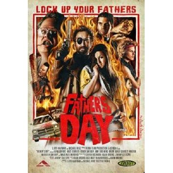 Fathers Day Movie Metal Sign Wall Art 8in x 12in