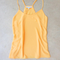 Ruffled Melon Racerback Tank [7028] - $27.00 : Feminine, Bohemian, & Vintage Inspired Clothing at Affordable Prices, deloom