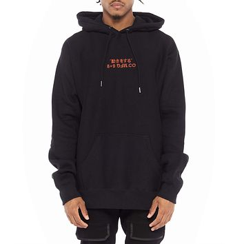 Super Heavy Premium Embroidered Hoodie Bred