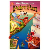 Peter Pan 11x17 Movie Poster (1989)