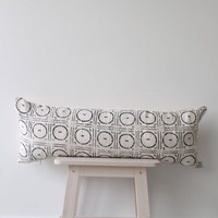 African Mudcloth bed pillow 'Ada'