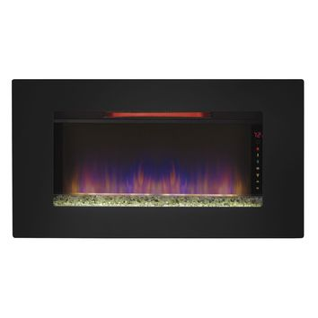 "Classic Flame Elysium - 36"" Wall Mounted/Free Standing Infrared Electric Fireplace (36II100GRG)"