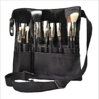 Professional Cosmetic Makeup Brush Apron Bag Artist Belt Strap Protable Women Make up Waist Holder Barber Hairdresser Organizer