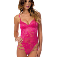 Sexy All Over Lace Teddy