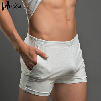 2017 Cotton Brand Men's Boxers Shorts Mans Fashion Sexy Large Mr Sitting Home Casual Pants Soft Smooth Docile Pajama Arrow Pants