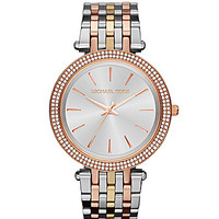 Michael Kors Darci Three-Tone Watch