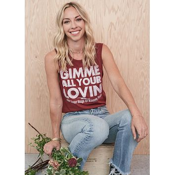 Gimme All Your Lovin' Muscle Tee