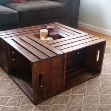 crate coffee table products | wanelo