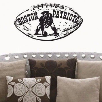 New England Patriots NFL Team Superbowl Wall Decal Gm0685 FRST