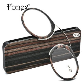 Thin Stripe Optics SOS Pince Nez Style Nose Resting Pinching Reading Glasses for Old Men Women USA +1.0 +1.5 +2.0 +2.5 +3.0 +3.5