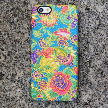 Floral Persian iPhone 6 case iPhone 6 plus Case Flowers iPhone 5S 5 iPhone 5C iPhone 4S/4 Case Blue Galaxy S6 edge S6 S5 S4 Note 3 Case 048