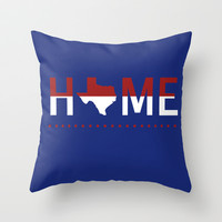 Home Throw Pillow by Jessilee Shipman