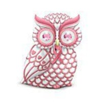 Breast Cancer Support Owl Figurine: Give A Hoot For Hope
