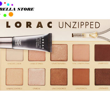 Lorac Unzipped eyeshadow Palette with Eyeshadow Primer