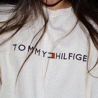 Tommy Hilfiger Fashion Casual Long Sleeve Sport Top Sweater Pullover Sweatshirt