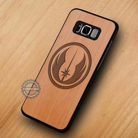 Star Wars Jedi Wooden Movie - Samsung Galaxy S8 S7 S6 Note 8 Cases & Covers #SamsungS8