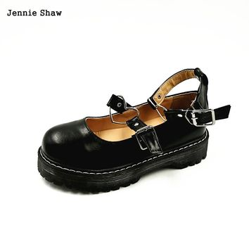 Round Toe Sweet Lovely Lolita Adorable Doll Women's Shoes