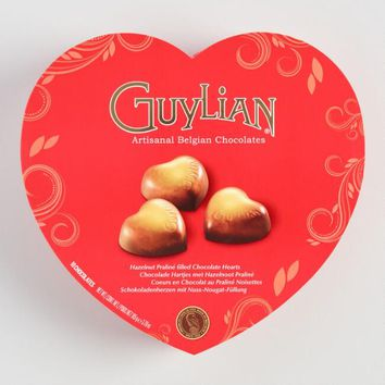 Guylian Hazelnut Praline Chocolate Heart Box