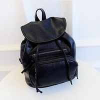 Women Girl Leather Shoulder School Bag Backpack Travel Satchel Rucksack Handbag