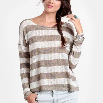 I Call Dibs Striped Sweater - shop autumn lush