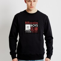 Billionaire Boys Club Reversible Crewneck Sweatshirt Black - Billionaire Boys Club - Brands at The Idle Man