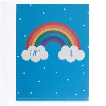 Over It Rainbow Pocket Note