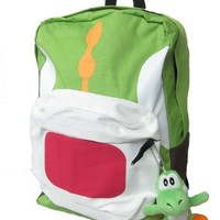 Backpack - Super Mario - Yoshi Green (Full Size School Backpack 17)