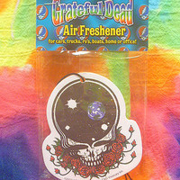 Grateful Dead Space Your Face Air Freshener Vanilla car decor hippie