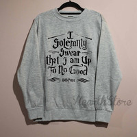 I Solemnly Swear Shirt Harry Potter Shirt Sweatshirt Sweater Unisex - size S M L XL