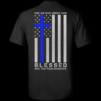 One Nation Under God Thin Blue Line