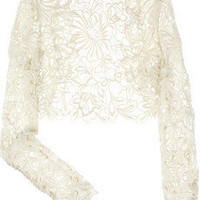 Temperley London | Selena lace shrug | NET-A-PORTER.COM
